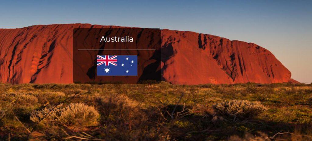Australia Country Flag