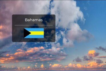 Bahamas Country Flag