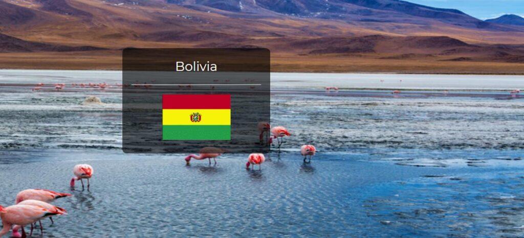 Bolivia Country Flag