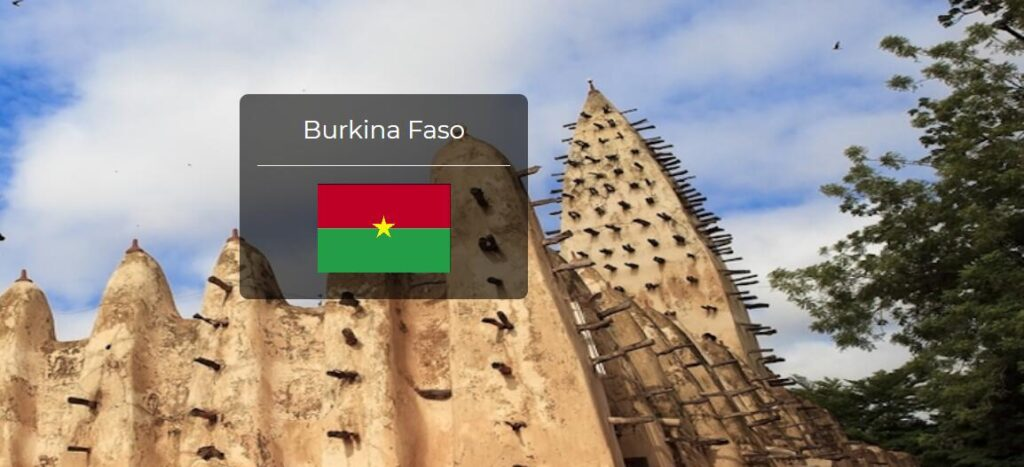 Burkina Faso Country Flag
