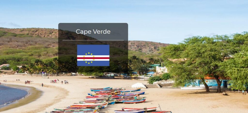 Cape Verde Country Flag