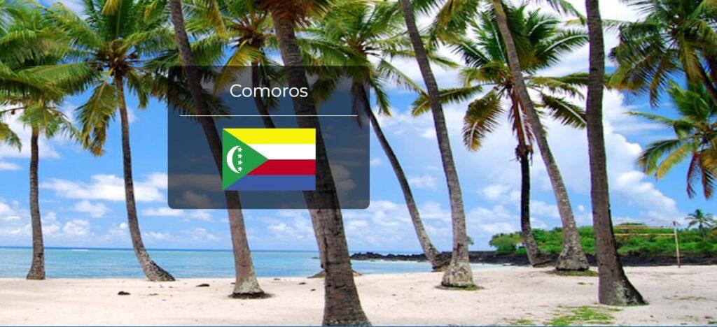 Comoros Country Flag