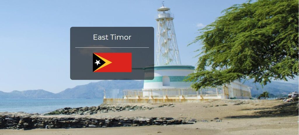East Timor Country Flag