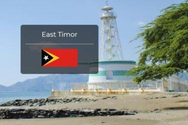East Timor Country Flag