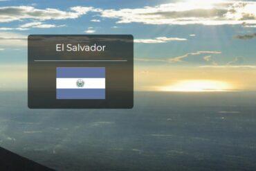 El Salvador Country Flag
