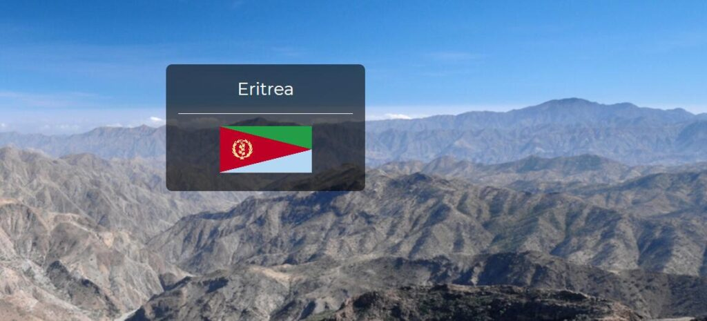 Eritrea Country Flag