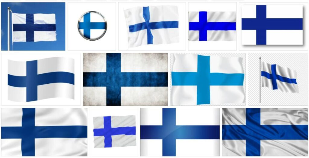 Finland Country Flag