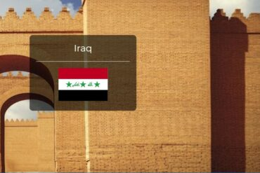 Iraq Country Flag