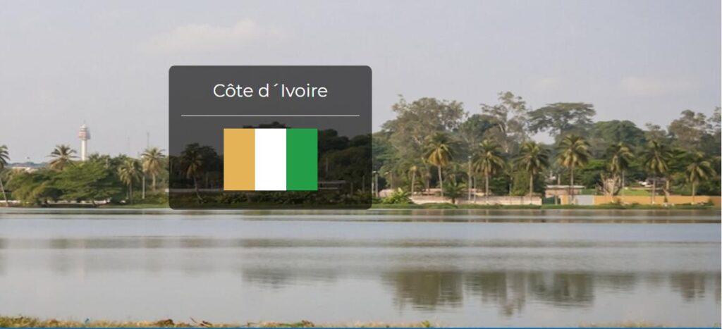 Ivory Coast Country Flag
