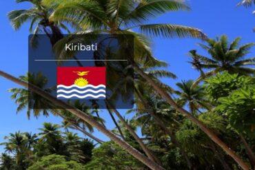 Kiribati Country Flag