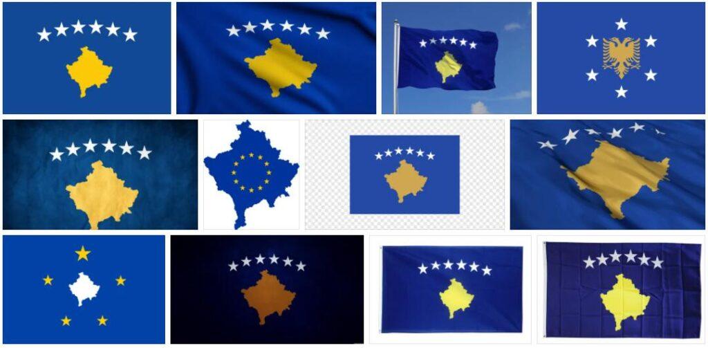 Kosovo Country Flag