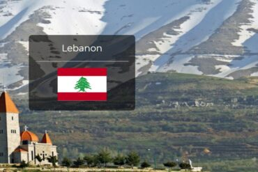 Lebanon Country Flag
