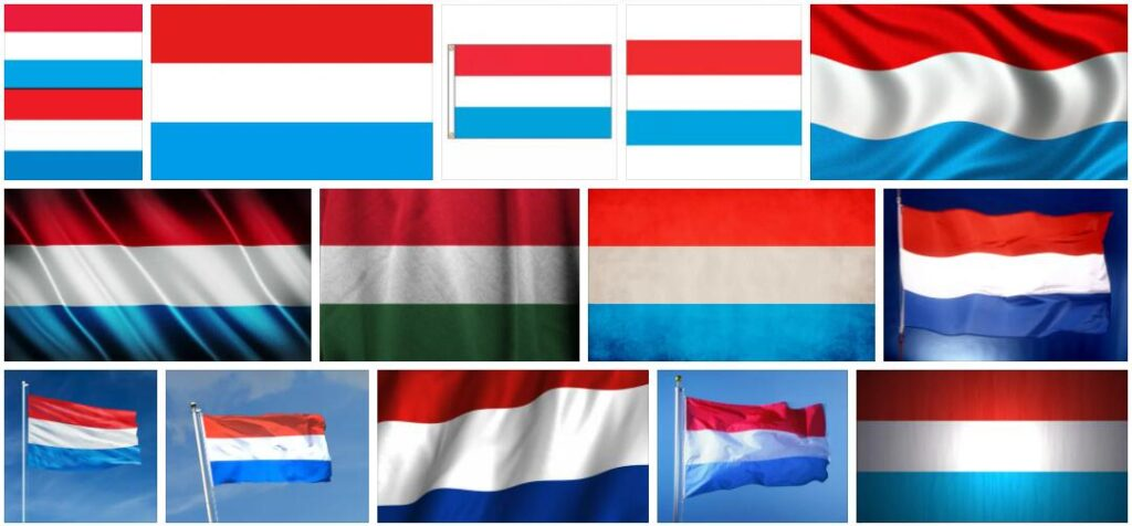 Luxembourg Country Flag