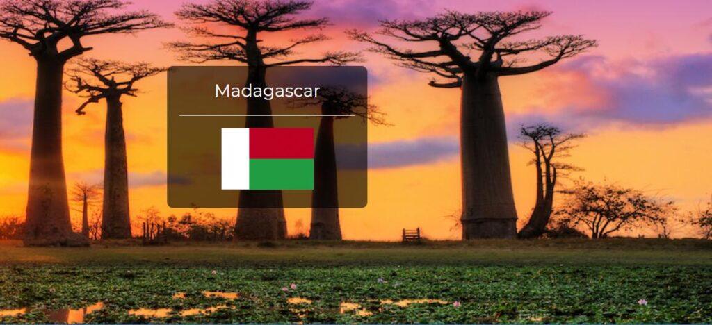 Madagascar Country Flag