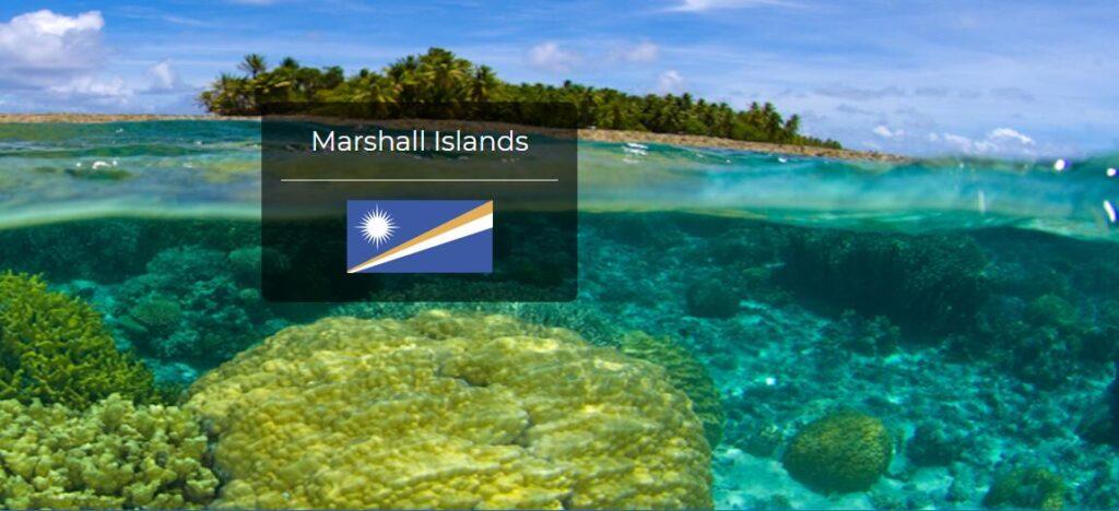 Marshall Islands Country Flag