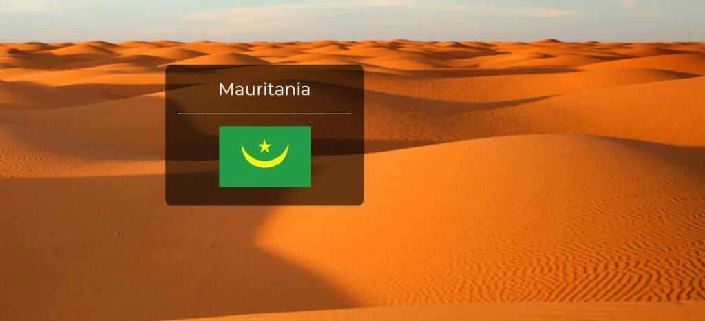 Mauritania Country Flag