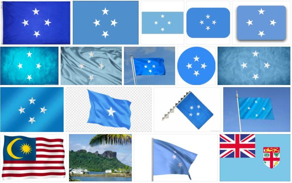 Micronesia Country Flag
