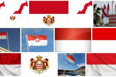 Monaco Country Flag