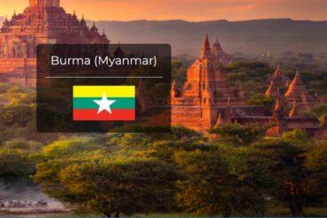 Myanmar Country Flag