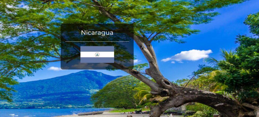 Nicaragua Country Flag