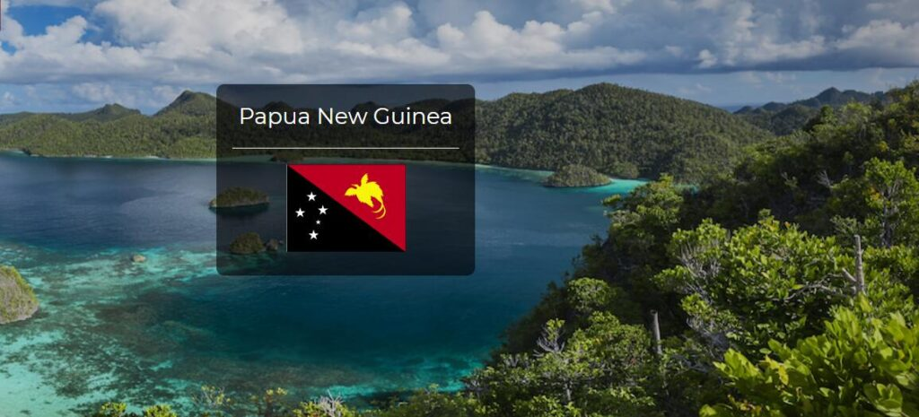 Papua New Guinea Country Flag