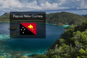 Papua New Guinea Country Flag