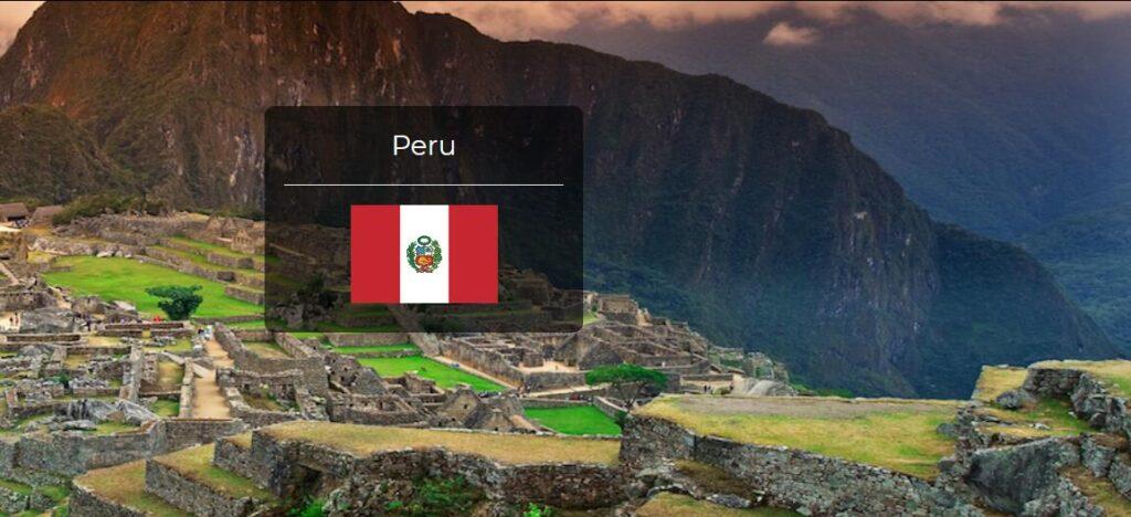 Peru Country Flag