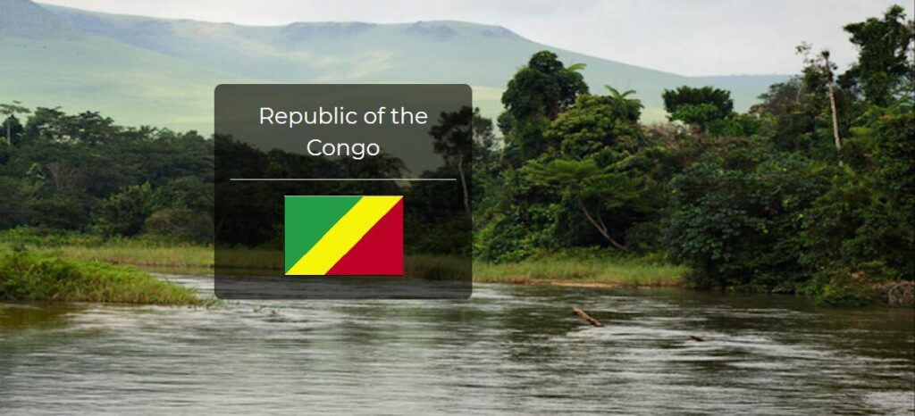 Republic of the Congo Country Flag