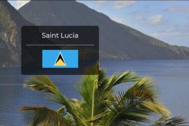 Saint Lucia Country Flag