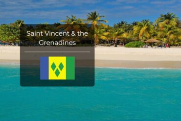Saint Vincent and the Grenadines Country Flag