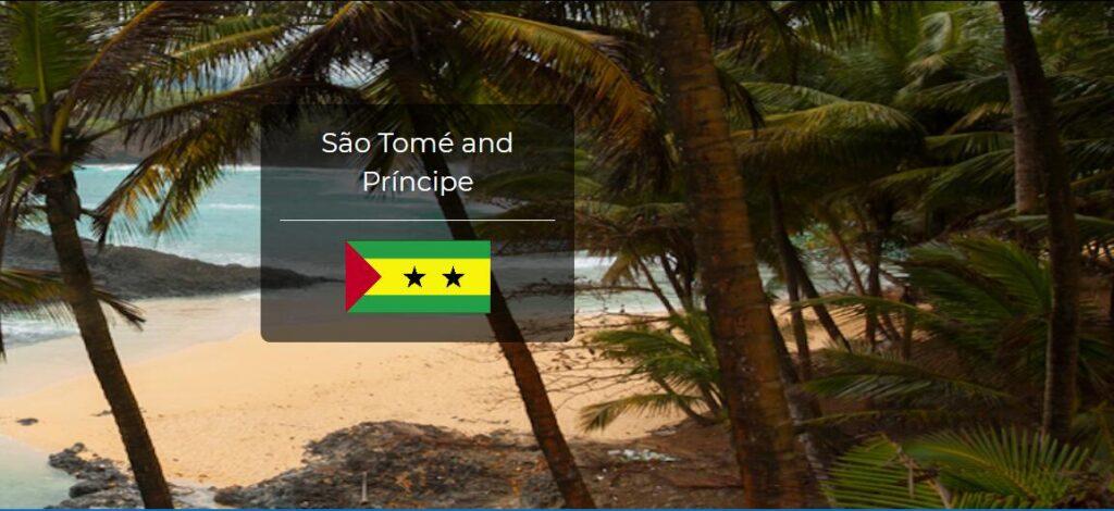 Sao Tome and Principe Country Flag