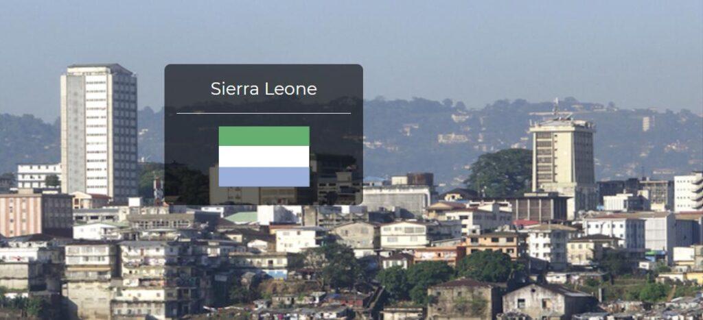Sierra Leone Country Flag