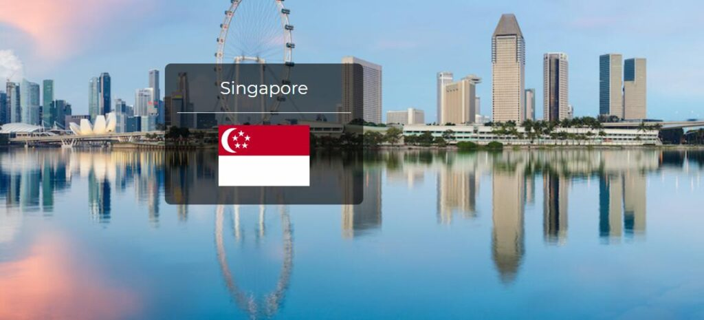 Singapore Country Flag