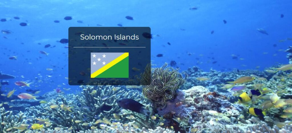 Solomon Islands Country Flag