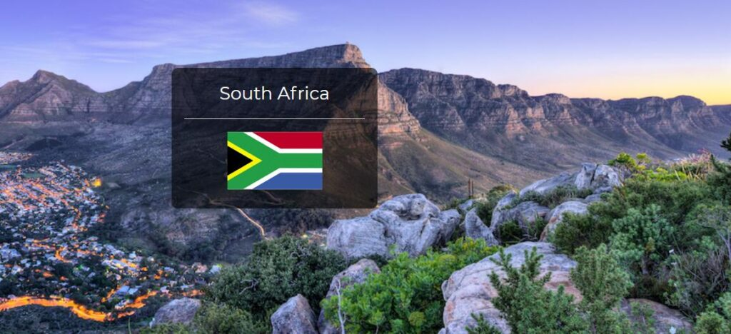 South Africa Country Flag