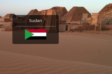 Sudan Country Flag