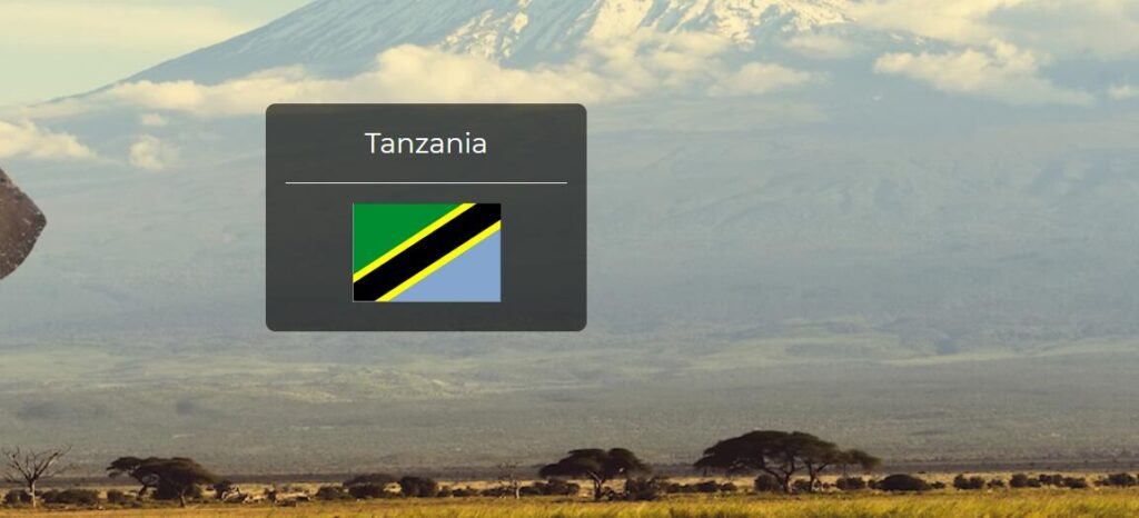 Tanzania Country Flag