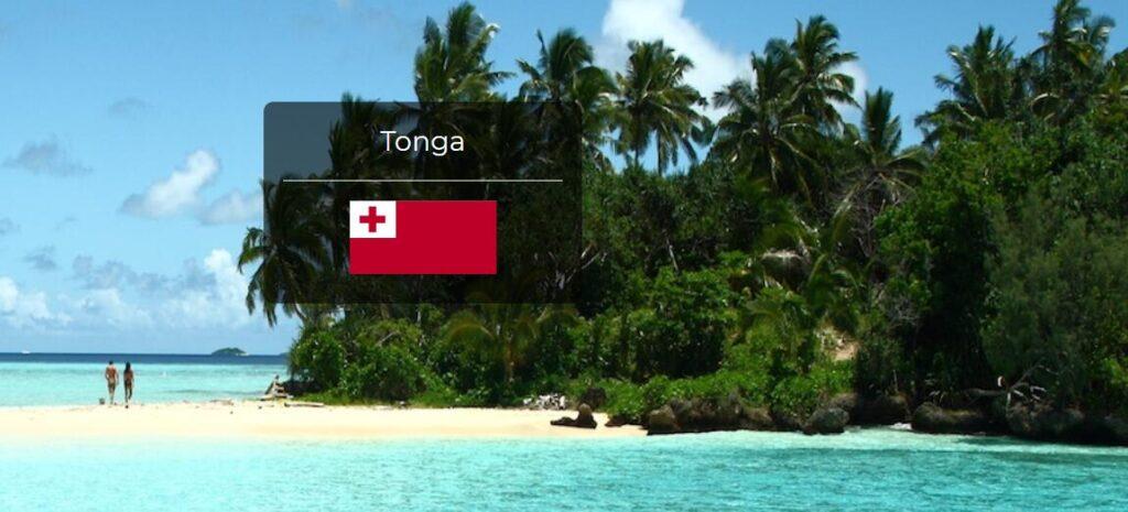 Tonga Country Flag