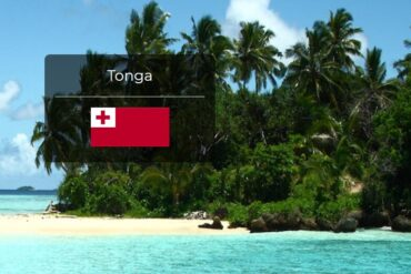 Tonga Country Flag
