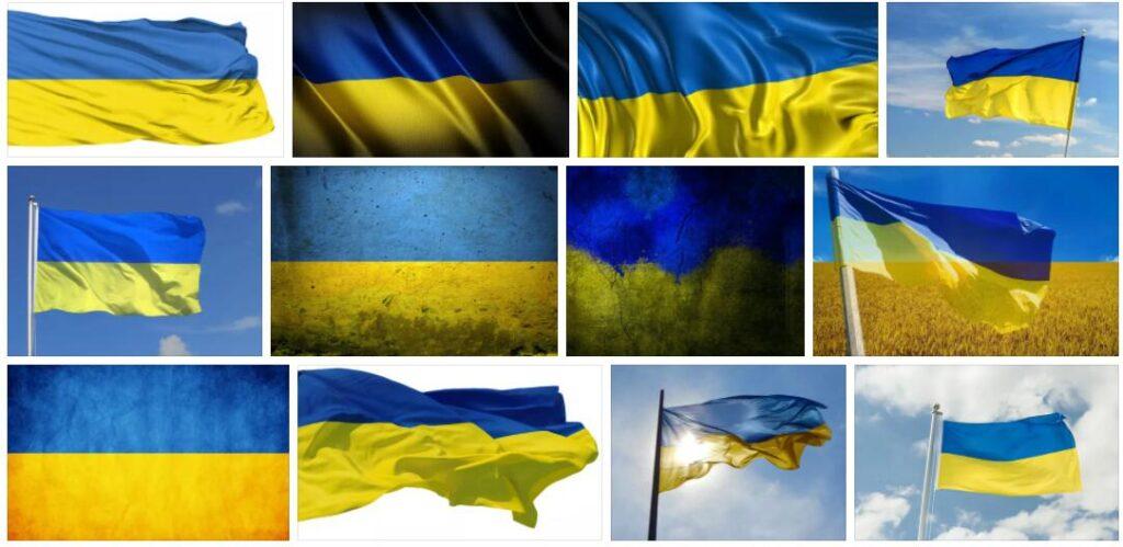 Ukraine Country Flag