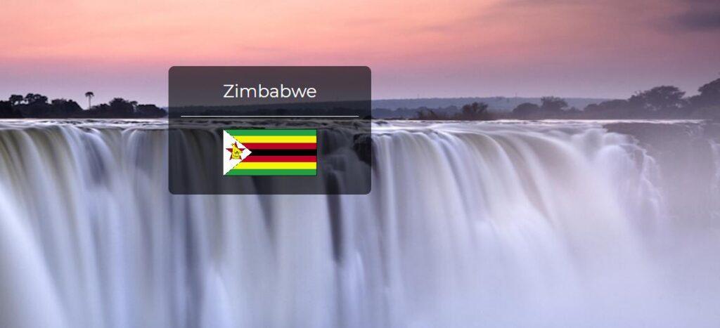 Zimbabwe Country Flag