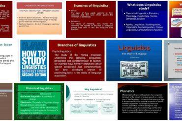 Study Linguistics