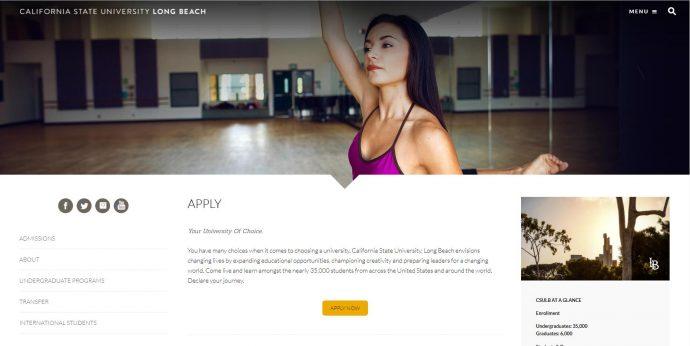 Apply to California State University, Long Beach