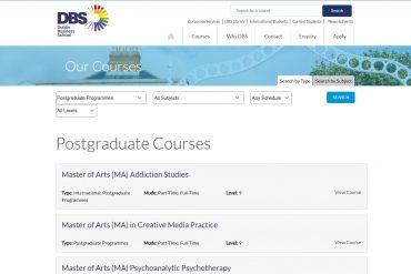 Dublin Business School Postgraduate Courses