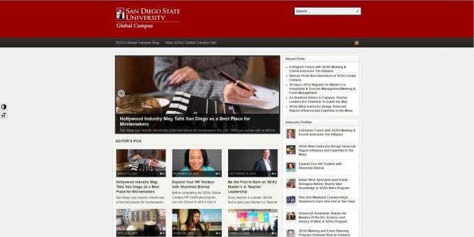 SDSU Global Campus Blog