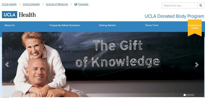 UCLA Donated Body Program