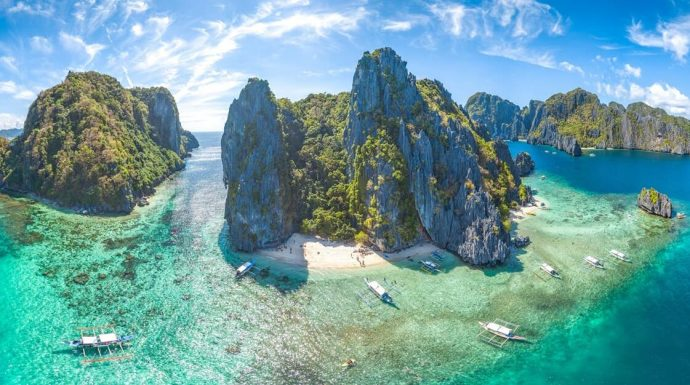 Exotic Palawan With Camping Port Barton in Philippines