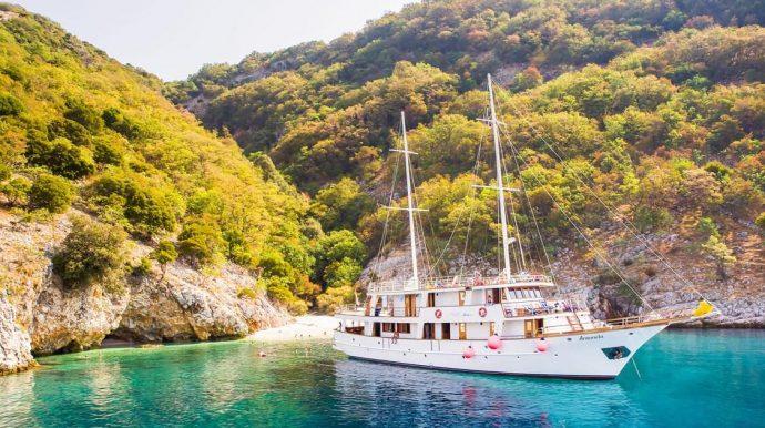 Island Luff in The Dalmatian Archipelago, Croatia