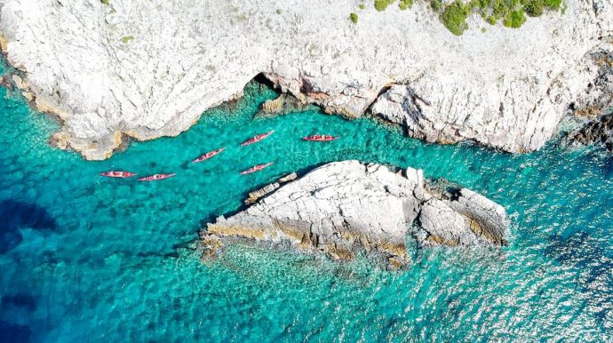 Sea Kayaking, Hiking & Culture in Croatia