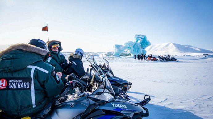 Snowmobile & Dog Sledding